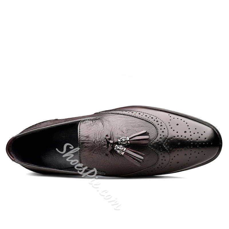 Shoespie Men's Low-Cut Upper Slip-On Round Toe Casual Shoes