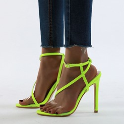 Shoespie Trendy Stiletto Heel Open Toe Ankle Strap Casual Sandals