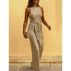 Backless Casual Plain Slim Women's Jumpsuit