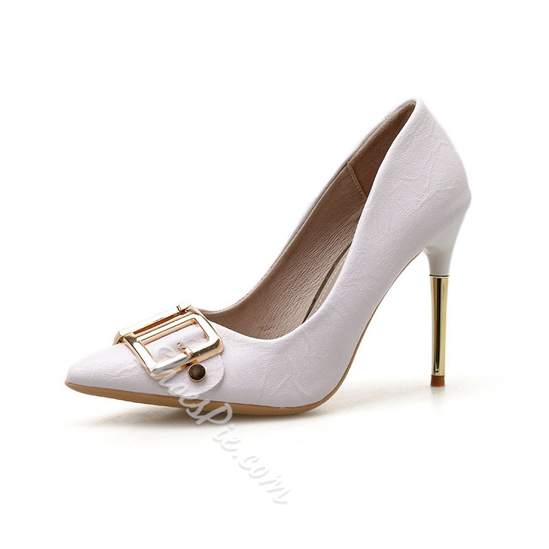 Shoespie Sexy Slip-On Pointed Toe Thread Sexy Thin Shoes
