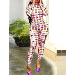 Casual Cartoon Skinny Women's Jumpsuit