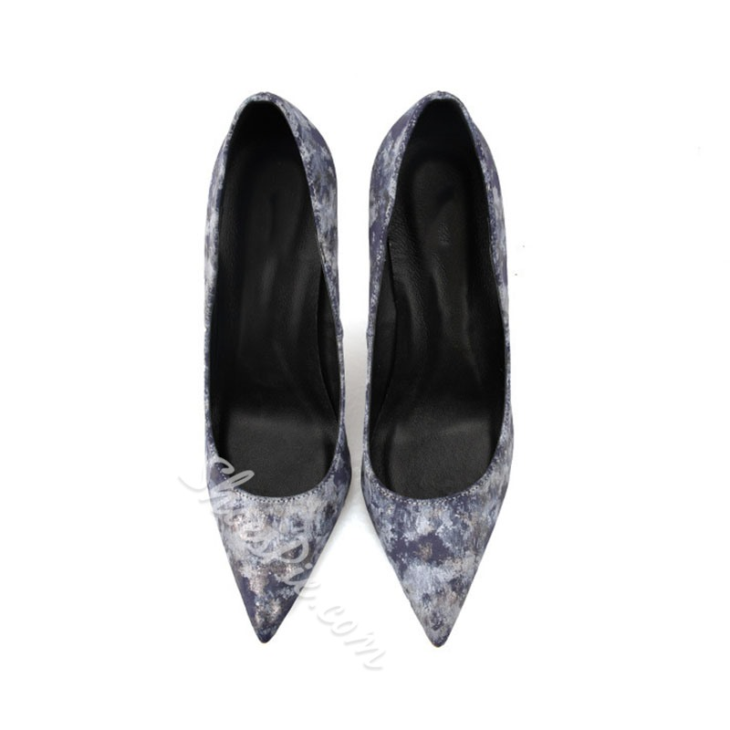 Shoespie Trendy Pointed Toe Slip-On Stiletto Heel Banquet Thin Shoes