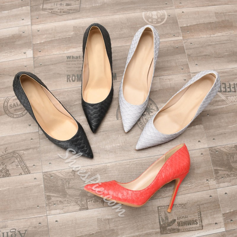 Shoespie Sexy Thread Slip-On Pointed Toe Banquet Thin Shoes