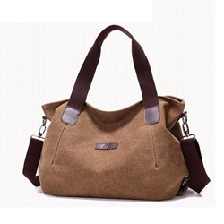 Shoespie Plain Oxford Thread Rectangle Shoulder Bags