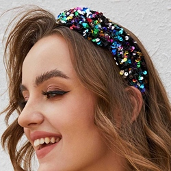 Hairband Sequins Sweet Wedding Hair Accessories