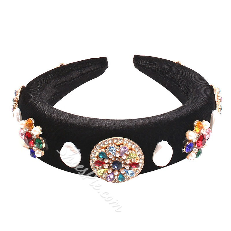 Hairband Diamante Vintage Party Hair Accessories