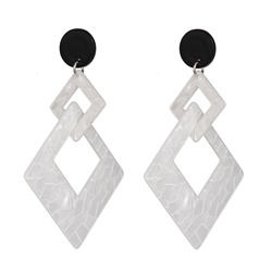 Acrylic European Holiday Earrings