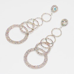 Diamante Romantic Anniversary Earrings