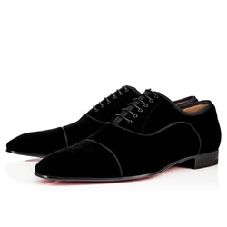 Shoespie Men's Plain Lace-Up Low-Cut Upper Patent Leather Thin Shoes
