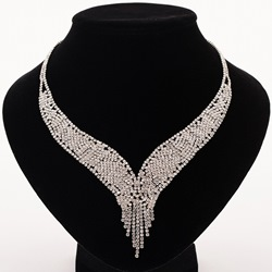 Chain Necklace Plain Romantic Female Necklaces