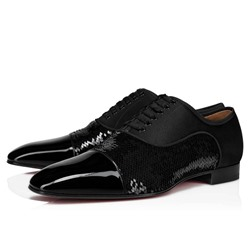 Shoespie Men's Plain Low-Cut Upper Lace-Up Square Toe Thin Shoes