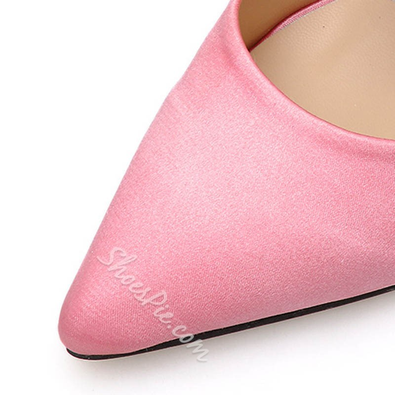 Shoespie Trendy Closed Toe Thread Slip-On Casual Slippers