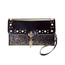 Shoespie Lock Plain PU Rectangle Crossbody Small Bags