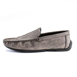 Shoespie Men's Low-Cut Upper Slip-On Plain Round Toe Lofers