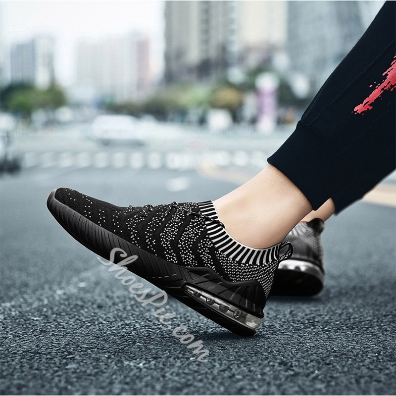Shoespie Men's Low-Cut Upper Lace-Up Sports Outdoor Sneakers