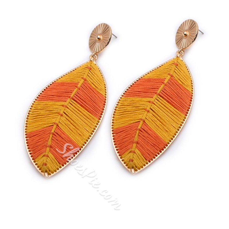 Bohemian Handmade Color Block Birthday Earrings