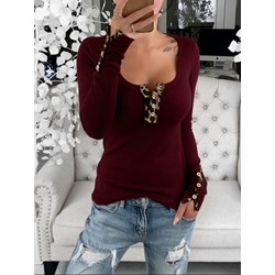 Standard Long Sleeve Slim Women's T-Shirt