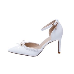 Shoespie Sexy Pointed Toe Thread Stiletto Heel Wedding Thin Shoes