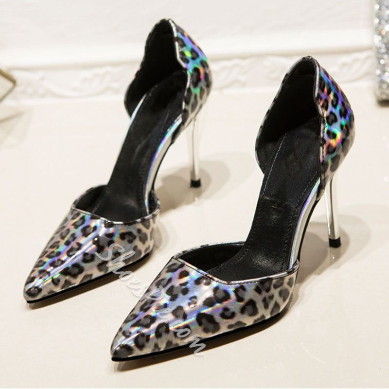 Shoespie Trendy Slip-On Stiletto Heel Thread OL Thin Shoes