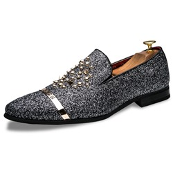 Shoespie Men's Low-Cut Upper Slip-On Round Toe Thin Shoes