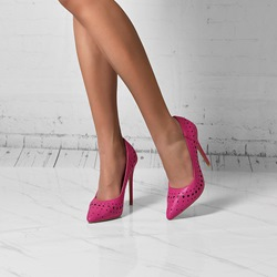 Shoespie Trendy Pointed Toe Slip-On High Heel Thin Shoes