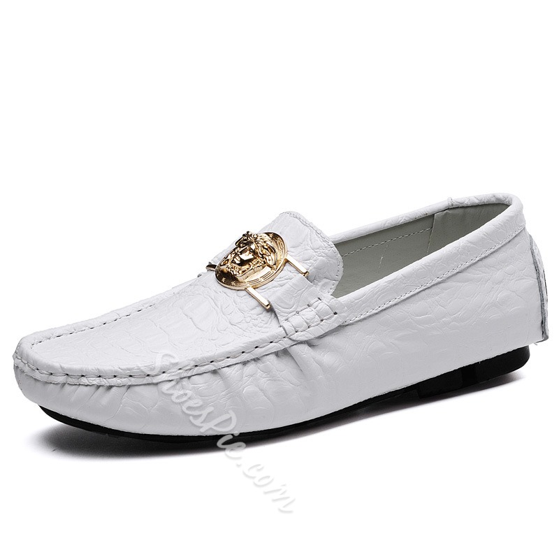 Shoespie Men's Slip-On Plain Low-Cut Upper Thin Shoes