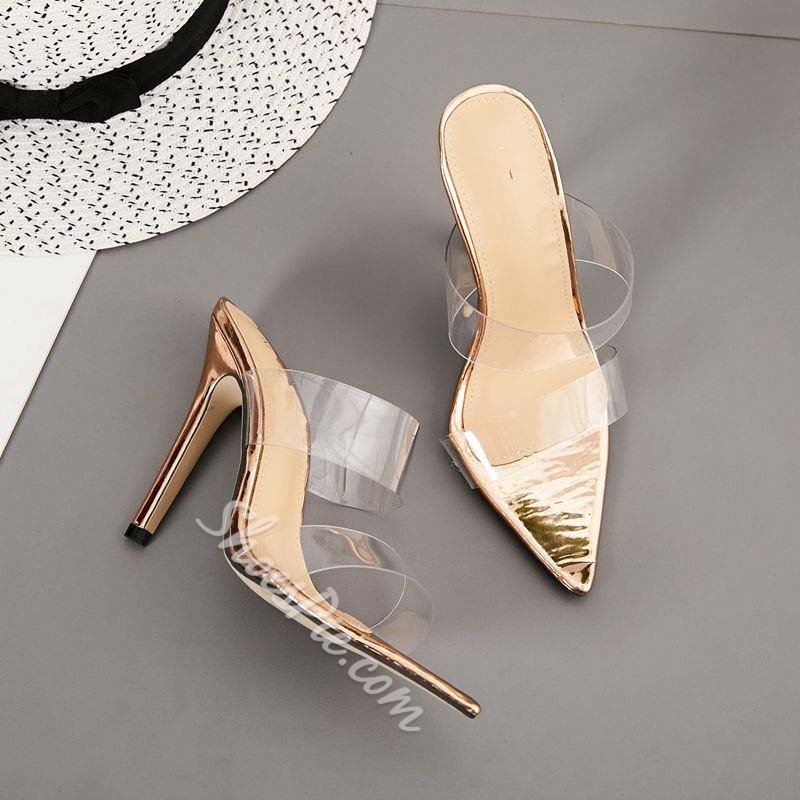 Shoespie Trendy Slip-On Flip Flop Thread Rubber Slippers