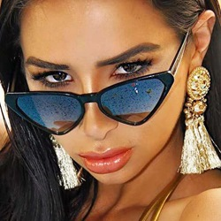 Resin Fashion Cat Eye Sunglasses