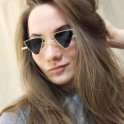 Resin Wrap Vintage Sunglasses
