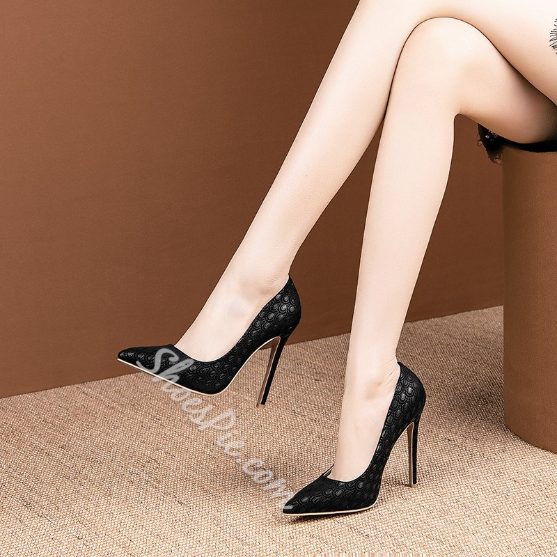 Shoespie Stylish Slip-On Pointed Toe Stiletto Heel Thin Shoes