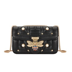 Shoespie Beads PU Rectangle Crossbody Bags