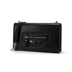 Shoespie PU Plain Chain Rectangle Crossbody Mini Bags