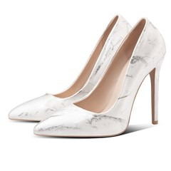 Shoespie Sexy Pointed Toe Slip-On Stiletto Heel Low-Cut Upper Stiletto Heels,