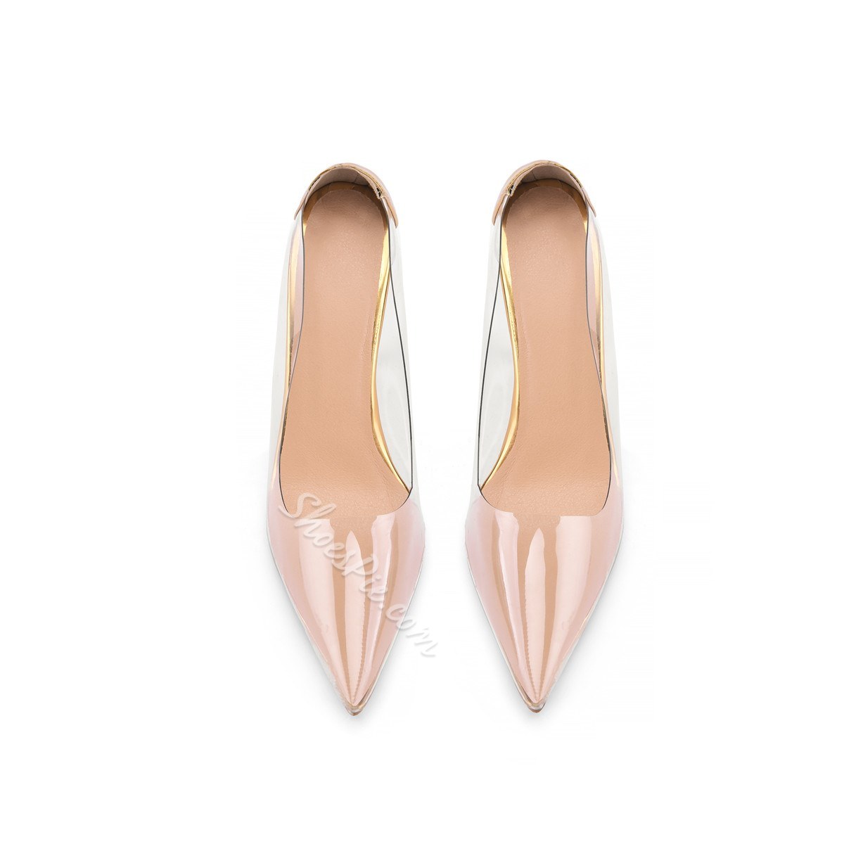 Shoespie Trendy Slip-On Pointed Toe Ultra-High Heel(≥8cm) Thin Shoes