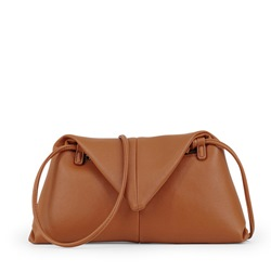 Shoespie PU Plain Thread Crossbody Bags