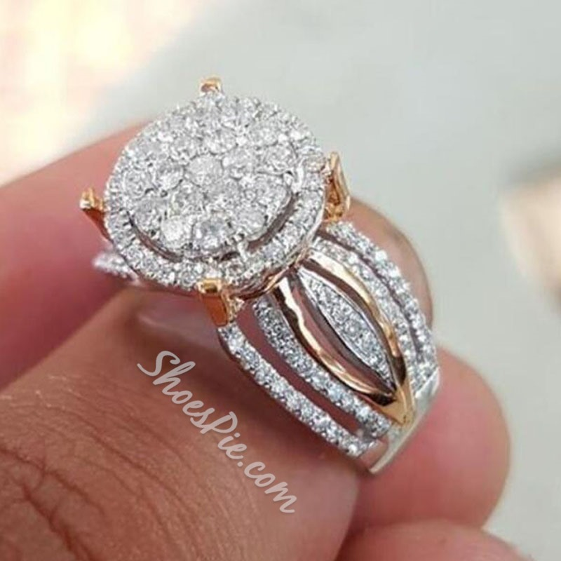 Romantic Diamante Birthday Rings