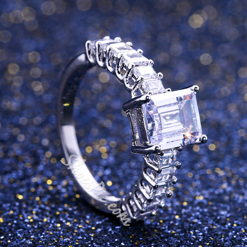 Diamante Romantic Anniversary Rings