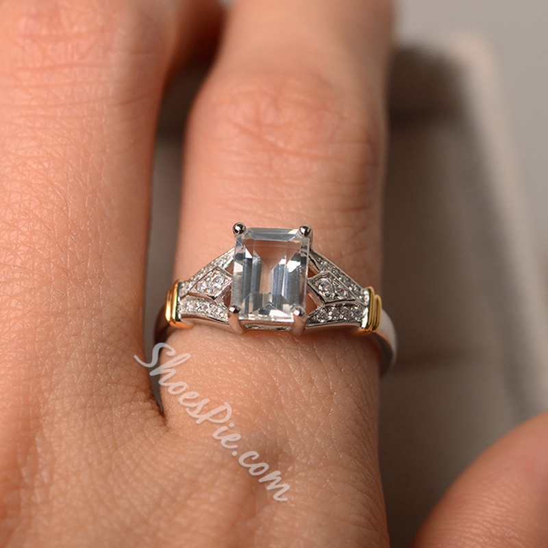 European Diamante Birthday Rings