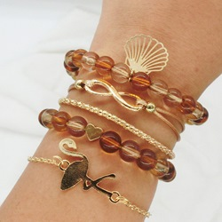 Sweet E-Plating Female Strand Holiday Bracelets
