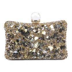 Shoespie Rectangle Banquet Clutches & Evening Hard Bags