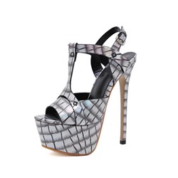 Shoespie Trendy Stiletto Heel Peep Toe Buckle Sexy Sandals