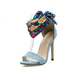 Shoespie Sexy Heel Covering Open Toe Stiletto Heel Thread Sandals