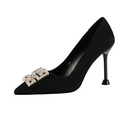 Shoespie Trendy Thread Slip-On Pointed Toe Korean Thin Shoes