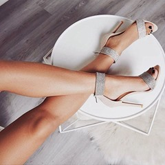 Shoespie Trendy Stiletto Heel Open Toe Heel Covering Western Sandals