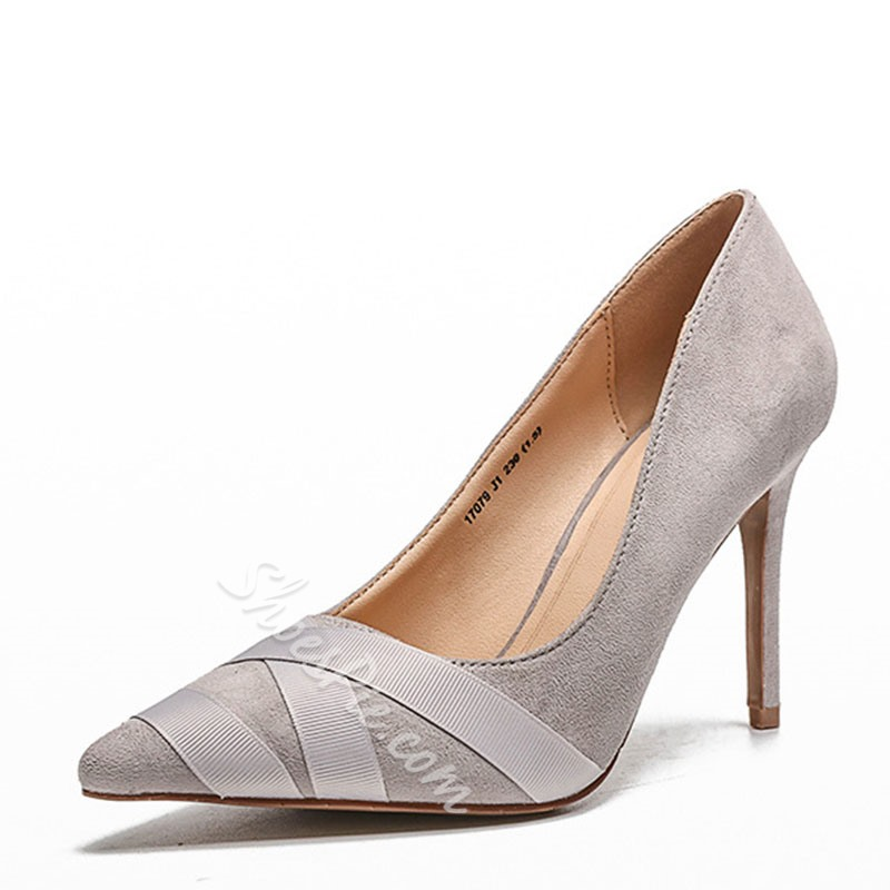 Shoespie Trendy Slip-On Pointed Toe Thread Low-Cut Upper Thin Shoes