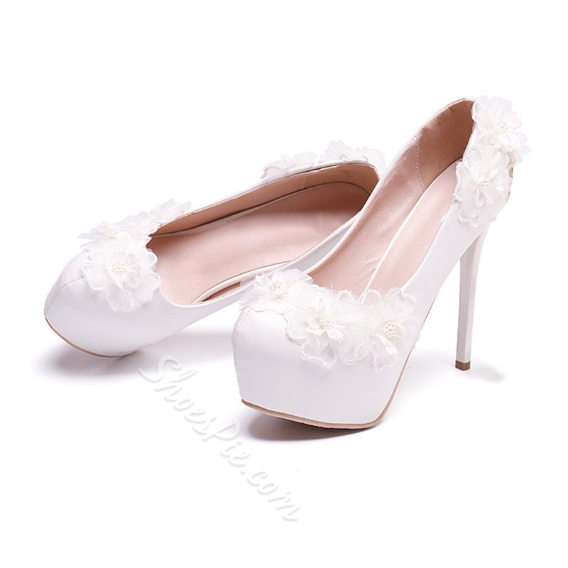 Shoespie Sexy Thread Round Toe Slip-On Princess Thin Shoes