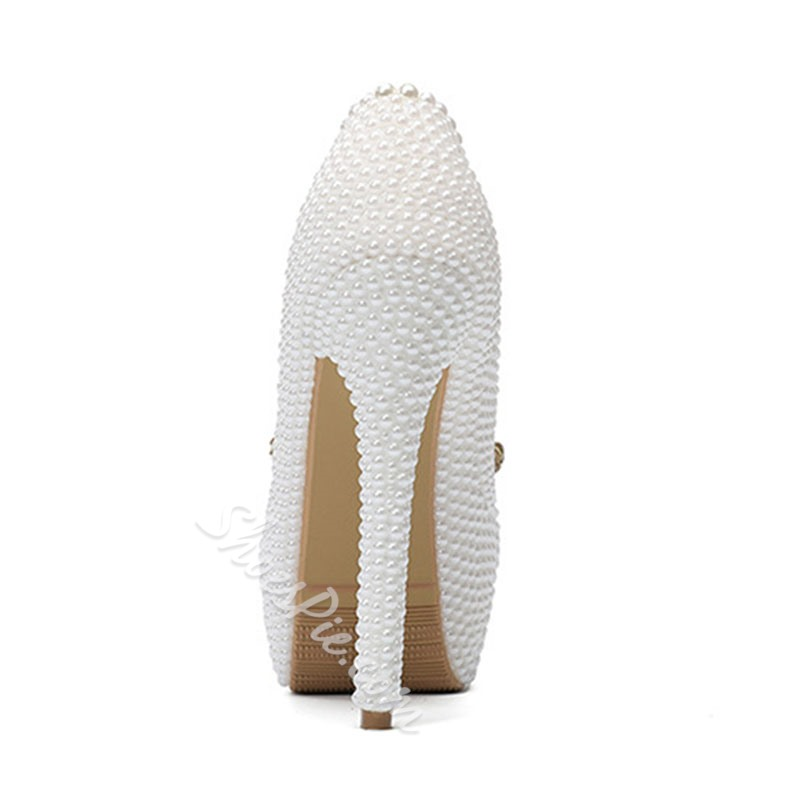 Shoespie Sexy Round Toe Rhinestone Slip-On 14cm Thin Shoes