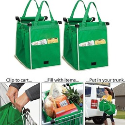Tote Bag Oxford Foldable Shopping Bags