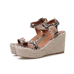 Shoespie Sexy Strappy Buckle Open Toe Low-Cut Upper Sandals