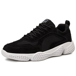 Shoespie Men'sLace-Up Low-Cut Upper Casual Sneakers